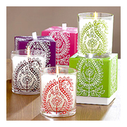 Cost Plus World Market Paisley Candles